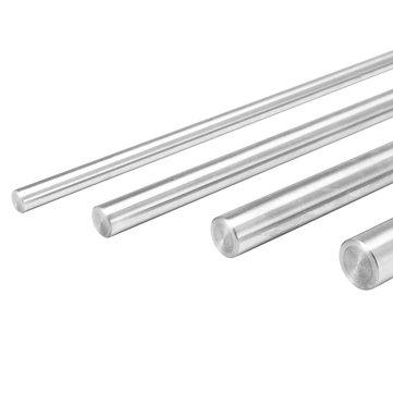 6/8/10/12 mm de diâmetro Rod Comprimento 400mm cilindro de aço Linear trilho Linear Shaft eixo óptico