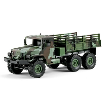 MN Model MN77 1/16 2.4G 4WD Rc Car with LED Light Camouflage Military Off-Road Truck RTR Toy
