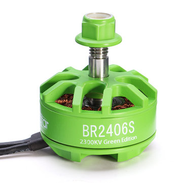 Racerstar 2406 BR2406S Green Edition 2300KV 2-5S Moteur Brushless Pour X220 250 280 300 RC Drone FPV Racing