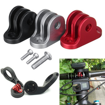 BIKIGHT Cycling Bike Handlebar Computer Cámara Mount Adapter Holder para Gopro Garmin Edge / Bryton Computer