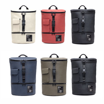90 Fun Trendsetter Chic Outdoor Travel Shoulder Backpack 14inch Laptop Storage Pack Men Women from xiaomi youpin