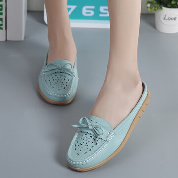 US Maten 5-12 Dames Casual schoenen Soft Slippers voor holle flats