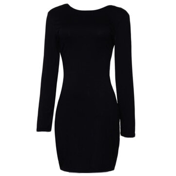 Women Sexy Bodycon Bandage Backless Cocktail Dress