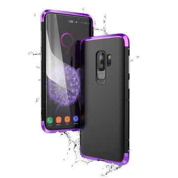 BOBYT Protective Case For Samsung Galaxy S9/S9 Plus Metal Bumper+PC Back Shell Shockproof