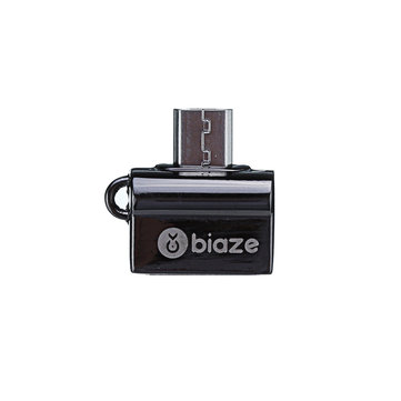 BIAZE Zinc Alloy Micro USB Male to USB 3.0 Female OTG Adapter For Smartphone Tablet