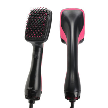 2 in 1 1000 Watt Glättung Haartrockner & Paddle Brush Hair Styler Kamm Salon Schönheit