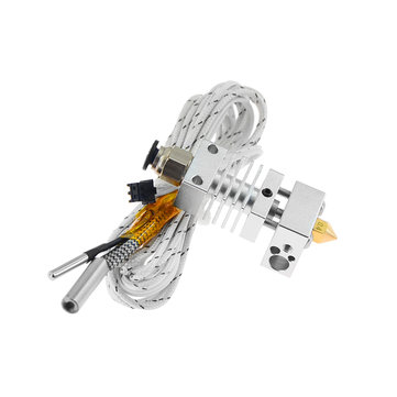 TWO TREES® 12V 1.75mm 0.4mm Hotend Extruder Extrusion Head Kit for CR-10 3D Printer