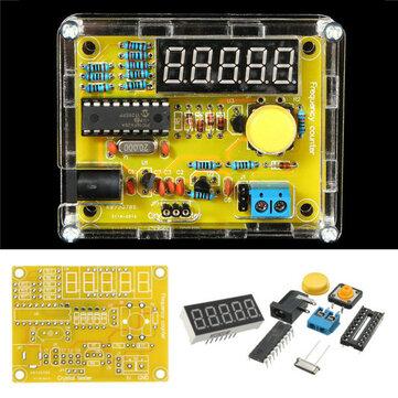 Geekcreit® DIY Testador de Frequência 1Hz-50MHz Medidor de Contador Cristal com Kit de Caixa