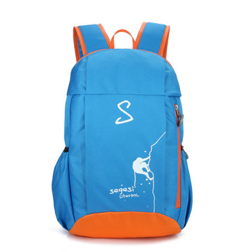 Outdoor Hiking Canvas 30L Backpack For Men Women Waterproof Light Cycling Camping Bag