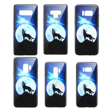 Bakeey強化ガラス保護ケース(Samsung Galaxy S9/S9 Plus/S8/S8 Plus /注9/Note 8用)