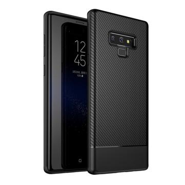 Bakeey Koolstofvezel anti-vingerafdruk Soft TPU beschermhoes voor Samsung Galaxy Note 9