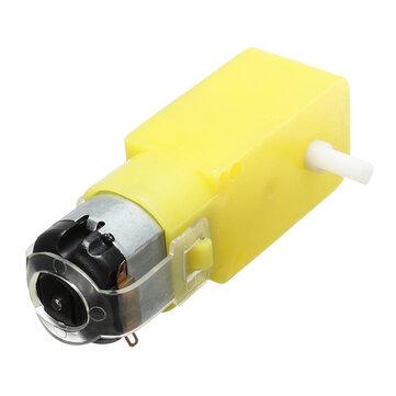 تيار منتظم 3 فولت -6 فولت مفرد محور العتاد المخفض للسيارات لاردوينو diy ذكي سيارة روبوت