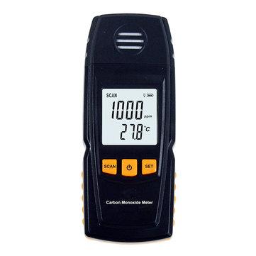 GM8805 Portable Handheld Carbon Monoxide Meter High Precision CO Gas Detector Analyzer CO Tester