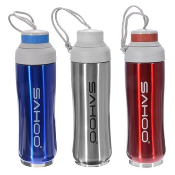 SAHOO 350ML Stainless Steel Heat Preservation Water Bottle Sports Bicycle Double Insulation Kettle