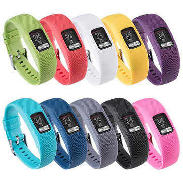 Large Colorful Strap Replacement Watch Band for Garmin Vivofit 4