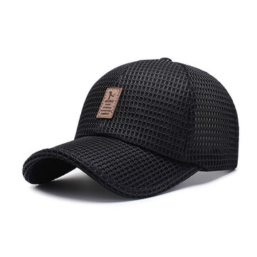 Cotton Sunshade Mesh Baseball Cap Outdoor Casual Breathable Adjustable Sports Visor Hat