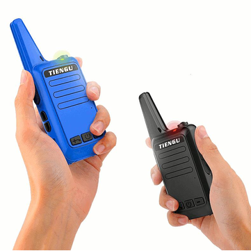 TIENGU TG580 Frequency 400-480MHz 16 canais Mini Ultra Thin Driving Hotel Civil Walkie Talkie