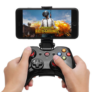 NEUGAME M200 Bluetooth Wired Vibration Gamepad mit Telefon Clip für IOS Android PC TV Box