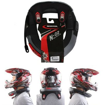 Collar Neck Guard Long Distance Racing Helm Protective Brace Safety Protector