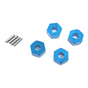 12x5mm Hexagon Connector For 1/10 HSP HPI TAMAYA TRAXXAS LOSI RC Car Parts