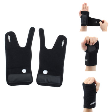 1Pcs Breathable OK Cloth Wrist Support Brace for Outdoor Sports Camping Basketball