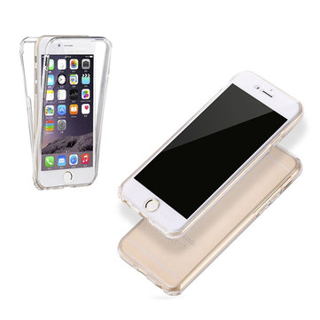 Full Body Touch Screen Soft TPU Case For iPhone 6 Plus & 6s Plus