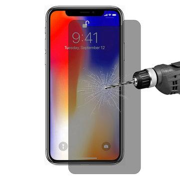 Enkay 0.26mm 9H 2.5D Protetor de tela de vidro temperado anti-espiar para iPhone X / iPhone XS / iPhone 11 Pro