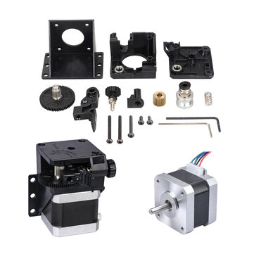 Upgrated 3D Printer Titan Extruder + Nema17 Stepper Motor Kits For V6 J-head Bowden 1.75mm Filament with Hotend Driver Ratio 3:1