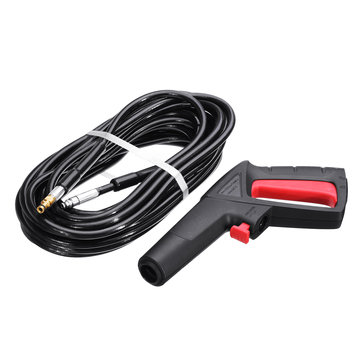 15M Click-Click High Pressure Washer Spray Tool +Tube Color Random For Karcher