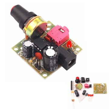 10pcs LM386 DC 3-12V 3.5mm Super Mini Audio Amplifier Board Module Audio Power Electronic Kit