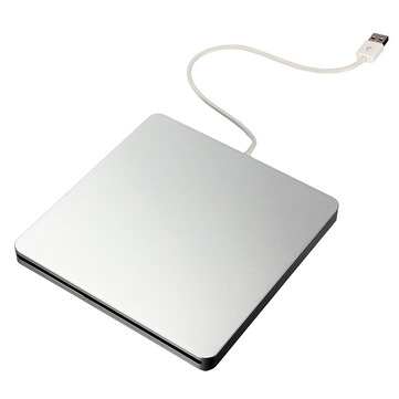 External Ranura USB DVD CD RW Conductor DVD Quemador para Ordenador Portátil Macbook