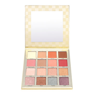 16 couleurs paillettes Shinning Eye Shadow Eye Palette Maquillage Kit de maquillage ensemble