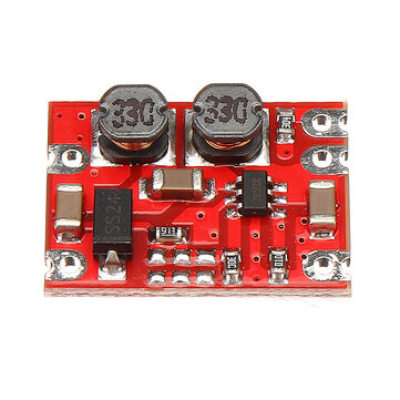 DC-DC 2.5V-15V to 3.3V Fixed Output Automatic Buck Boost Step Up Step Down Power Supply Module