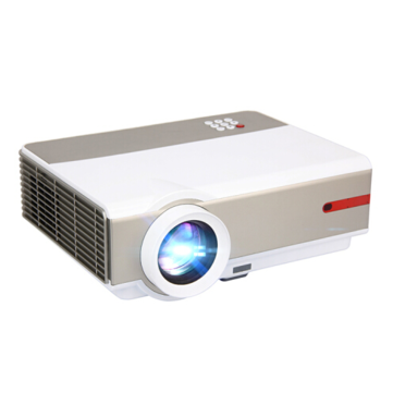 Rigal RD808 LCD-projector 1024X768 1080P HD 3500 Lumens LED-projector 3D Beamer bluetooth WIFI Android-systeem HDMI VGA USB-tv Videoprojector Opgewaardeerde versie