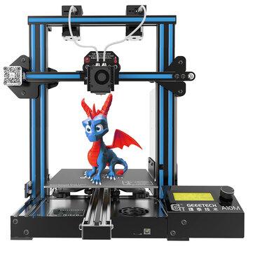 Geeetech® A10M Mix-color Prusa I3 Impressora 3D 220 * 220 * 260mm Tamanho de Impressão Com Extrusora Dupla / Detector de Filamento / Power Resume / 3: 1 Trem de Engrenagem / Open Source Control Board