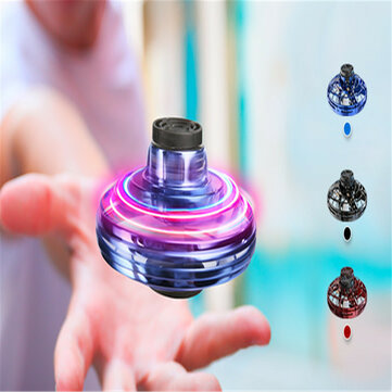 FlyNova Flying Spinner UFO Anti-collision Flying Globe LED Fingertip Gyro Interactive Boomerang Decompression Toys Kid's Gift
