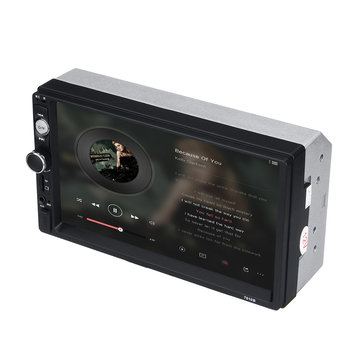 "7"" Car Stereo MP5 Player Double 2Din In Dash Touch bluetooth Radio FM Aux+Camera"