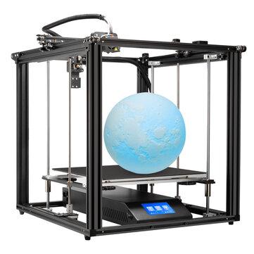Creality 3D® Ender-5 Plus 3D Yazıcı Kit 350 * 350 * 400mm Büyük Baskı Boyutu Desteği Otomatik Yatak Düzleştirme / Devam Et Yazdır / Filament Aşınması Algılama / Çift Z Ekseni / 4.3inch Ekran