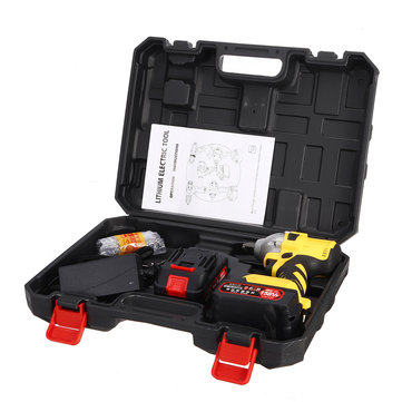 158VF 19800mAh Cordless Brushless Impact Wrench Power Driver Electric Wrench Socket Battery Hand Drill Installation Power Tools