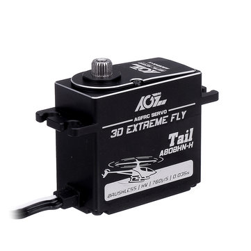 AGF A80BHN-H 22kg Brushless High-Speed Head-locking Metal Gear Digital Servo For 450-700 RC Helicopter