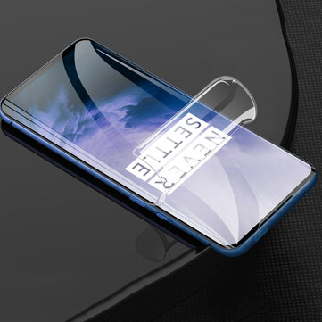 Bakeey 3D Full Cover Curved Edge Anti-Explosion Anti-Scratch High Definition Soft PET Screen Protector for OnePlus 7T Pro