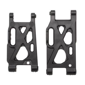 Brazos de suspensión delanteros + traseros para Wltoys 144001 1/14 4WD Modelos de vehículos de carreras de alta velocidad RC Coche Piezas
