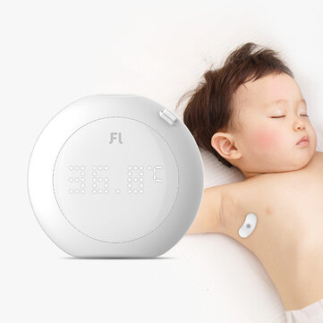 Fanmi 24-Hour Intelligent Baby Fever Monitor with Wireless Alerts Wearable Smart Thermometer Patch Digital Accurate Reading for Infant Toddlers