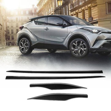 Car Side Door Body Moulding Cover Trims For Toyota C-HR 2017