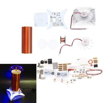 DIY Tesla Coil Module Kit Ion Windmill Tesla Coil ZVS Technology Physical Electronics Production Parts