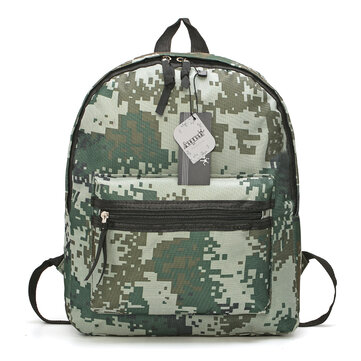 Military Fans Camouflage Backpack Fishing Hiking Camping Tactical Shoulder Bag