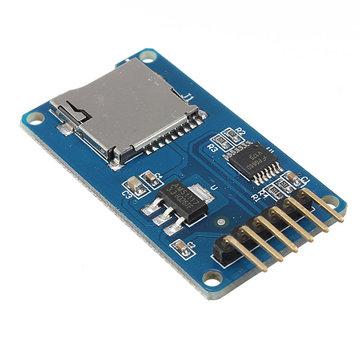 5個のMicro SD TFカードメモリシールドモジュールSPI Micro SDアダプタGeekcreit Arduino用-公式Arduinoボードで動作する製品