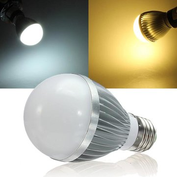E27 Dimmable 5W Warm White/White AC 220V LED Globe Light Bulbs